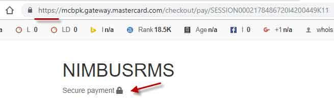 secure online payment in Nimbus