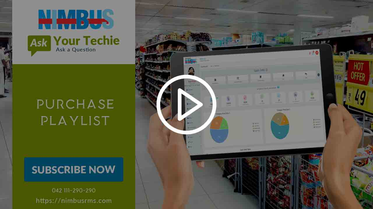 How to operate Purchase screen in Cloud retail POS software