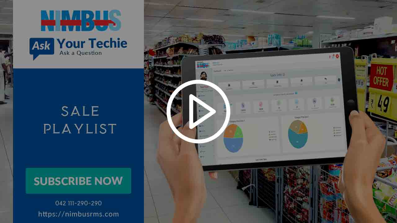 Cloud Point of Sale video tutorials- Sales